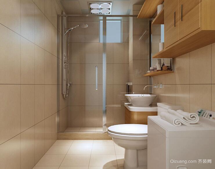 6平米小户型欧式卫生间装修效果图实例