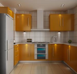 大户型欧式精致的厨房吊顶装修效果图鉴赏