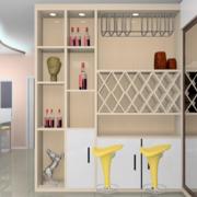 时尚的酒柜造型图