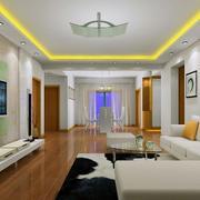欧式风格别墅型现代唯美的客厅装修效果图