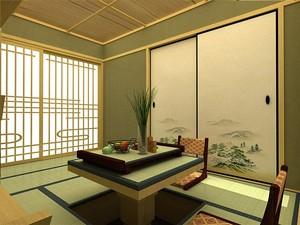 三居室日式风格榻榻米装修效果图鉴赏