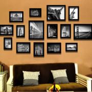独特的照片墙