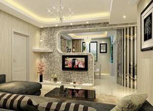 2016一居室欧式风格客厅装修效果图欣赏