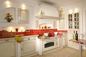别墅型北欧风格厨房装修效果图实例