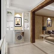 欧式风格别墅型阳台装修效果图实例