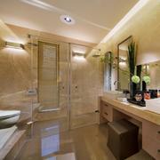 120平米大户型欧式风格卫生间装修效果图