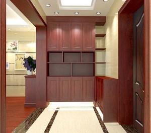 89平米大户型中式室内鞋柜装修效果图鉴赏