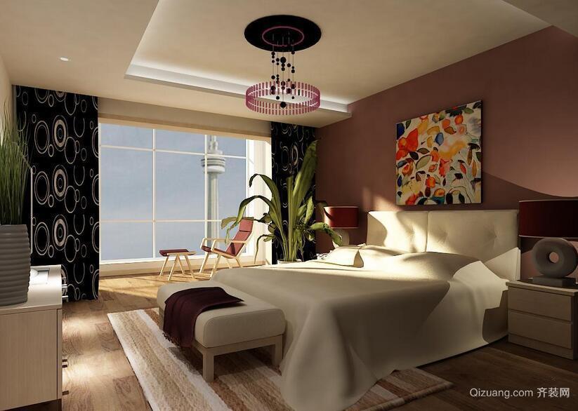 90平米欧式大户型卧室装修效果图鉴赏
