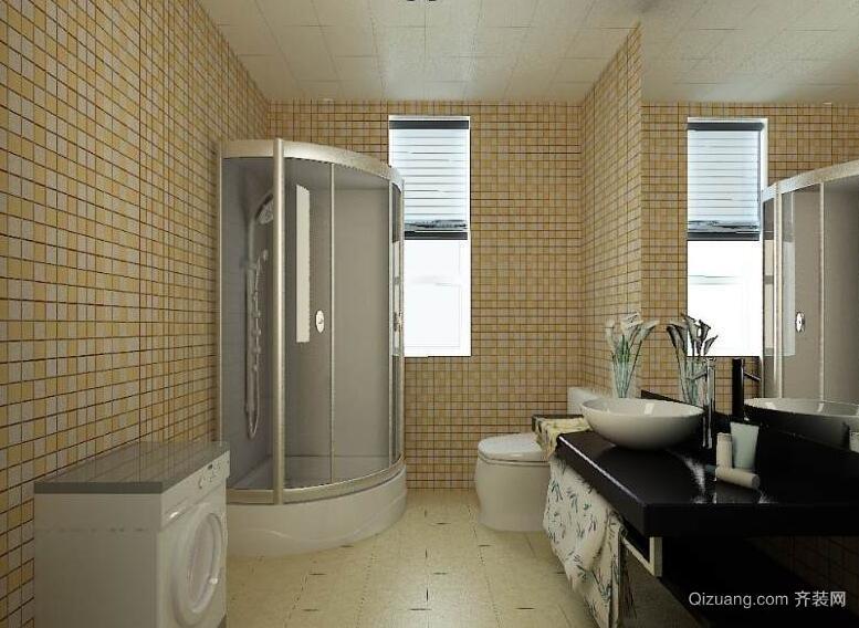 小户型欧式卫生间室内装修效果图鉴赏