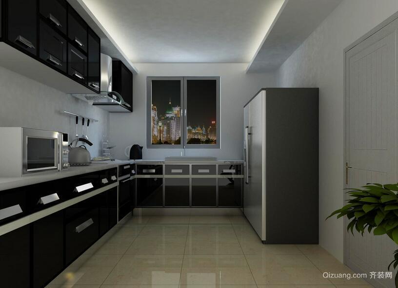大户型欧式风格厨房设计装修效果图鉴赏