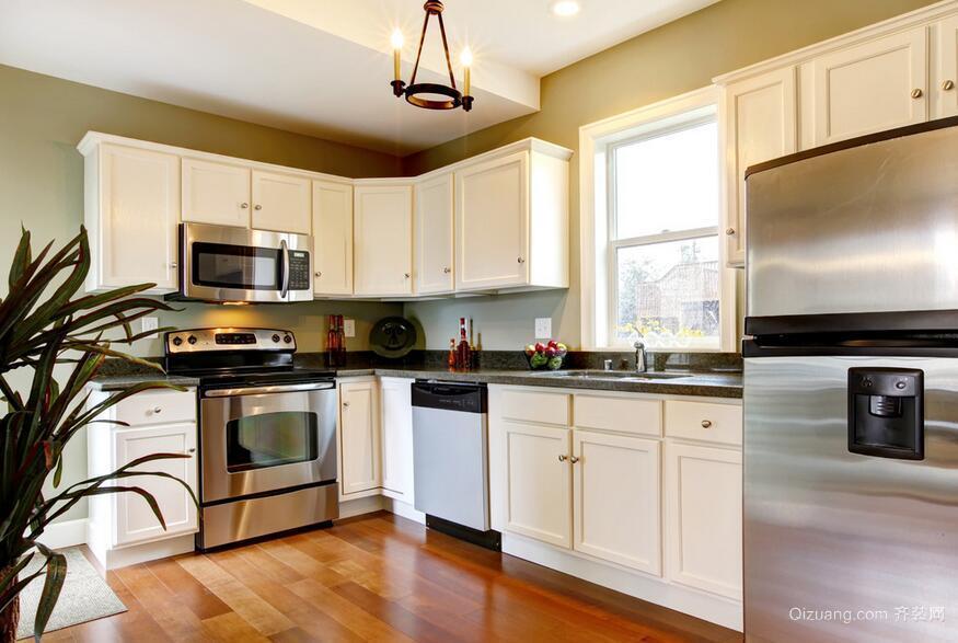 轻奢别墅型唯美欧式厨房装修效果图鉴赏