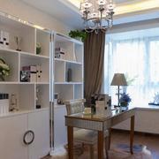 低调奢华小户型书房装修样板间效果图实例