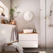别墅型北欧风格房子卫生间装修效果图实例