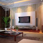 温馨家庭欧式石材电视背景墙装修效果图