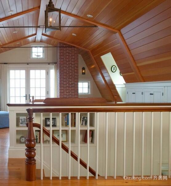 精美大户型欧式风格阁楼楼梯装修效果图