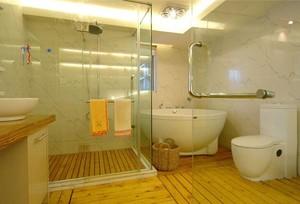 60平米小户型欧式小卫生间隔断装修效果图