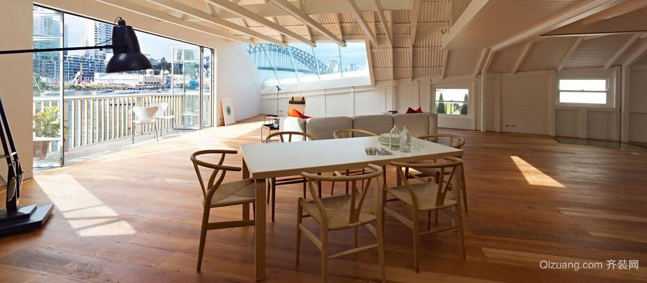 欧式风格别墅型唯美餐厅装修效果图鉴赏