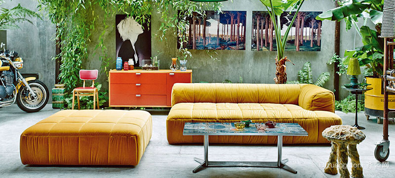 现代别墅型欧式入户花园装修效果图实例