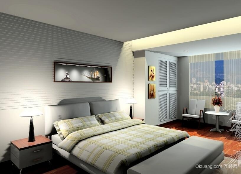 90平米大户型简欧风格卧室装修效果图鉴赏