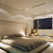 大户型精美的现代榻榻米床装修效果图实例