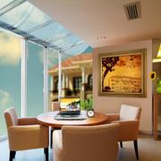 优雅欧式风格别墅型阳台装修效果图实例