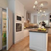 90平米大户型欧式厨房装修效果图实例