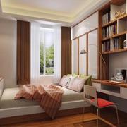 经典时尚的别墅型榻榻米床装修效果图
