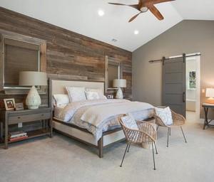 时尚的别墅型北欧风格卧室装修效果图鉴赏