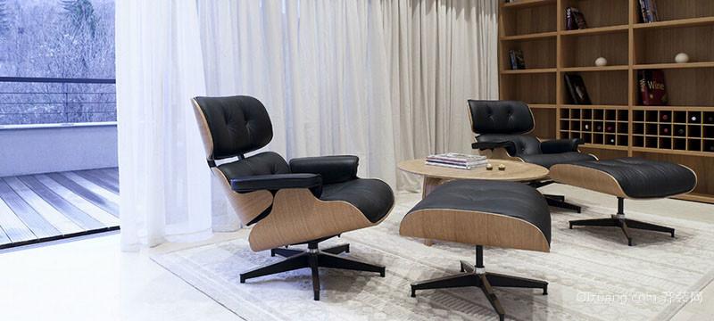 2016现代欧式别墅型客厅装修效果图实例高清图片