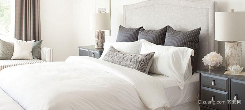 精美的现代大户型北欧风格卧室装修效果图