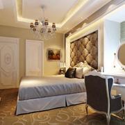 90平米大户型经典简欧风格卧室装修效果图
