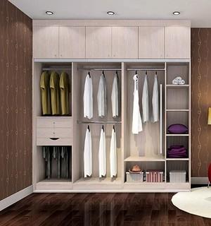 2016现代室内欧式风格衣柜装修效果图