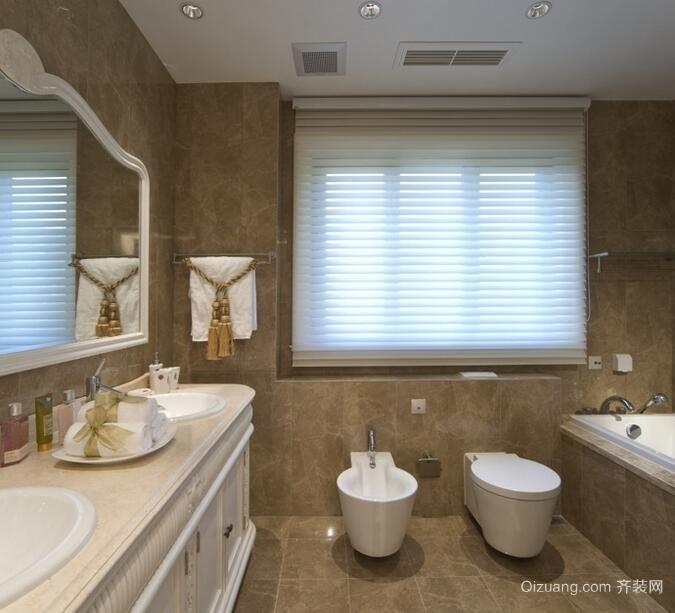 欧式小户型唯美的卫生间装修效果图鉴赏