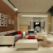 欧式大户型精致的客厅吊顶装修效果图鉴赏