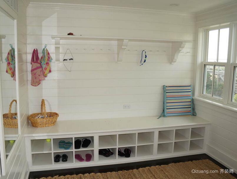 欧式大户型精致的室内鞋柜装修效果图鉴赏