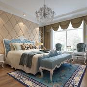 欧式风格精致的大户型卧室装修效果图鉴赏