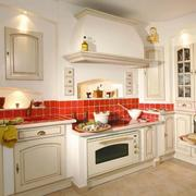 2016唯美大户型欧式厨房装修效果图实例