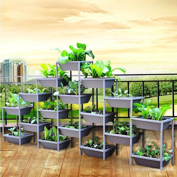 设计美观的现代别墅阳台菜园装修效果图鉴赏