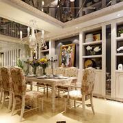 2016极致经典的大户型欧式房子餐厅装修效果图
