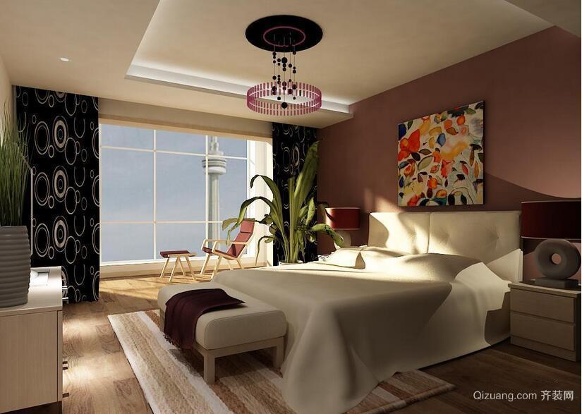 78平米小户型欧式风格卧室装修效果图