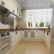 2016欧式风格小户型家装厨房装修效果图