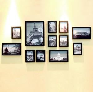 舒心欧式大户型室内照片墙装修效果图鉴赏