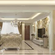 唯美客厅设计