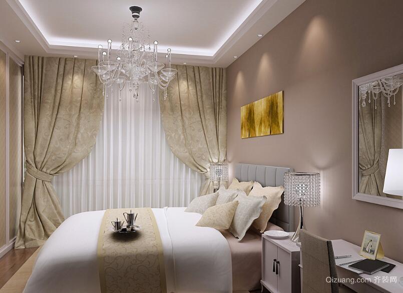 大户型现代简约风格卧室背景墙装修效果图鉴赏