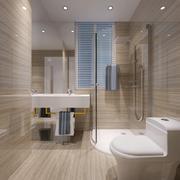 精致的大户型欧式卫生间装修效果图实例
