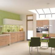 80平米简欧风格厨房橱柜装修效果图鉴赏