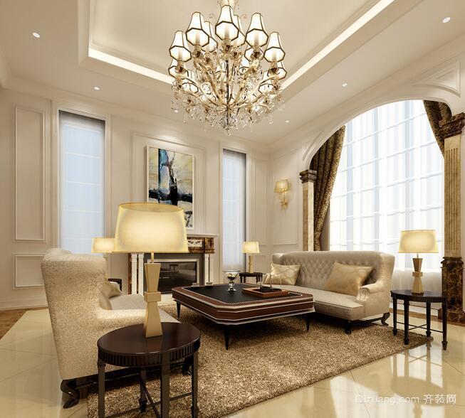 2016独特风格的欧式别墅室内装修效果图大全