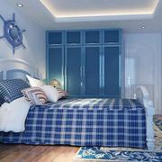 时尚的卧室整体图