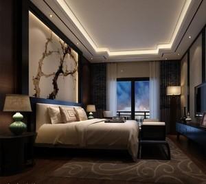 大户型后现代装修风格卧室装修效果图鉴赏
