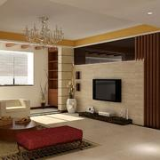 完美的欧式大户型客厅背景墙装修效果图鉴赏